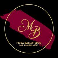 Myra Ballesteros Professional Hair and Make-Up Artist Pampanga Logo
